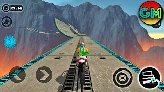 Impossible Moto Bike Tracks 3D #New Levels (by Tech 3D Games Studios) Android Gameplay HD