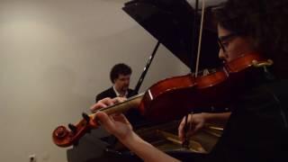 Comptine d'Un Autre Été - Yann Tiersen (Violin and Piano)