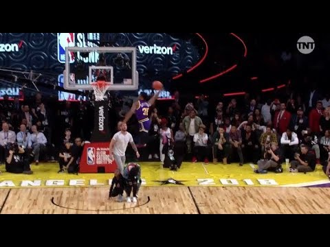 Top Dunks from NBA Slam Dunk Contest