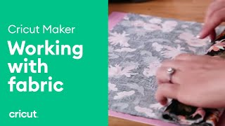 Working with Patterns and Fabric - Working with Cricut Maker