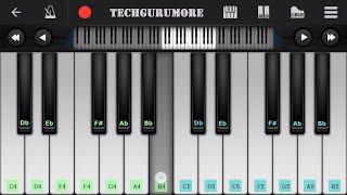 Dekha Hazaron Dafa Arijit Singh Piano Tutorial   RUSTOM   Piano Notes