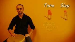 Djembe: Tone vs Slap