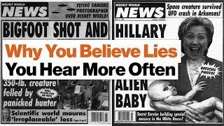 Why We Believe Lies?