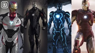 13 Strongest Iron Armors In MCU Till Avengers Endgame In Hindi | BlueIceBear