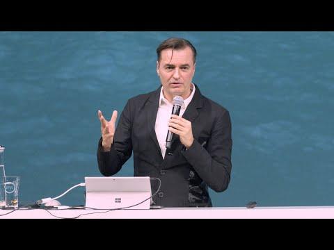 Patrik Schumacher's keynote speech at Dezeen x Grohe's Wave of the Future event