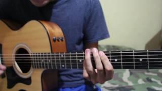 """Como tocar """"Azul Se Mira"""" Adriel Favela ft Los Del Arroyo TUTORIAL DE GUITARRA @AldoGarcia"""