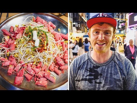 BULGOGI (불고기): Eating Korean Grilled Beef | Final Night in Seoul, Korea visiting Hongdae