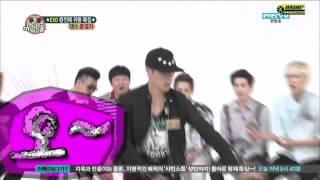 EXO Lay dancing king!! At weekly idol 130814
