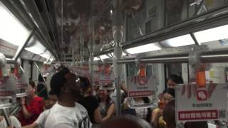 Naturally 7 上海地铁快闪   Put You Onto This (Shanghai Metro)
