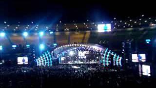 """Gravação da abertura do especial """"Roberto Carlos 50 anos'' no Maracanã"""