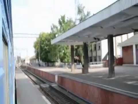 Украина. Irgendwo in Ukraine mit dem Zug aus 70-er.mov