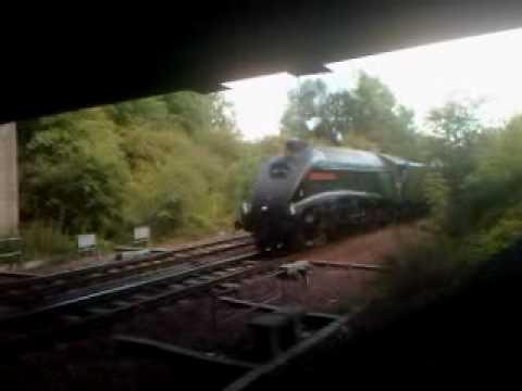 Spirit of South Africa departing Inverkeithing Station 23/08/09