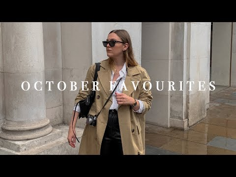OCTOBER FAVOURITES 2019 | I Covet Thee