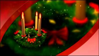 Christmas Holiday animation background loop video effect