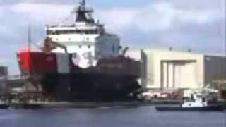 Como colocar um navio na agua