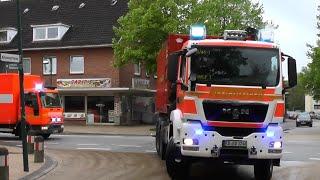 Feuerwehr Rendsburg auf Einsatzfahrt in Kiel