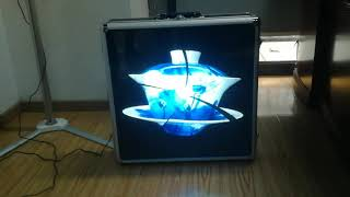 Naked eye 3D  holographic advertisement machine