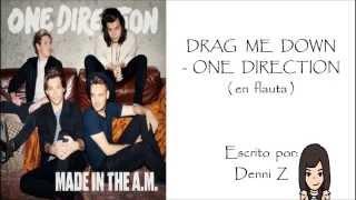 DRAG ME DOWN (en flauta) - One Direction
