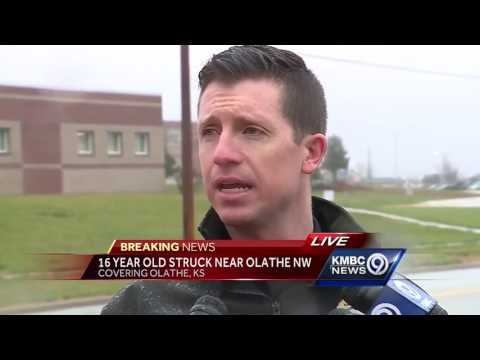 16-year-old student strikes 16-year-old student with vehicle outside Olathe NW High