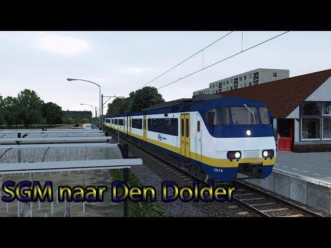 SGMm naar Den Dolder  Train Simulator 2018