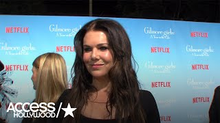 'Gilmore Girls: A Year In The Life': Lauren Graham On Luke & Lorelai | Access Hollywood