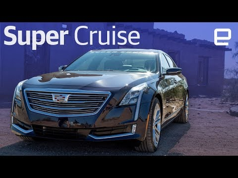 2018 Cadillac CT6 with Super Cruise hands-on