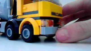 Lego city cement mixer (60018) review!