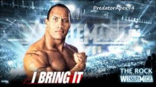 wwe The Rock theme song HD