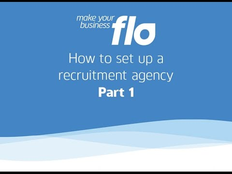 Flo Software Solutions - How to set up a recruitment agency