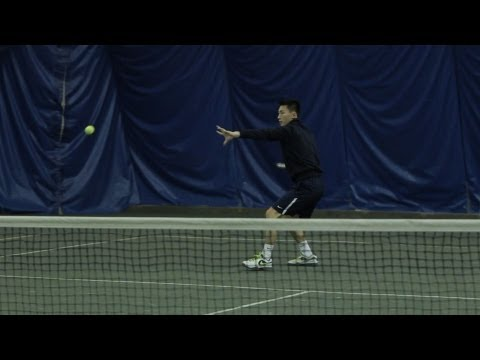 How to Hit a Tennis Ball with Topspin | Tennis Lessons