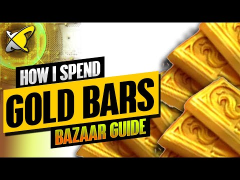 HOW I SPEND GOLD BARS | Updated Monthly Bazaar Guide | RAID: Shadow Legends