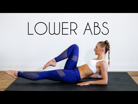 10 MIN BEGINNER LOWER ABS (At Home No Equipment)