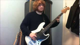 Funky town Lipps inc bass cover
