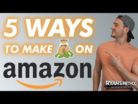 5 Ways to Make Money on Amazon in 2021