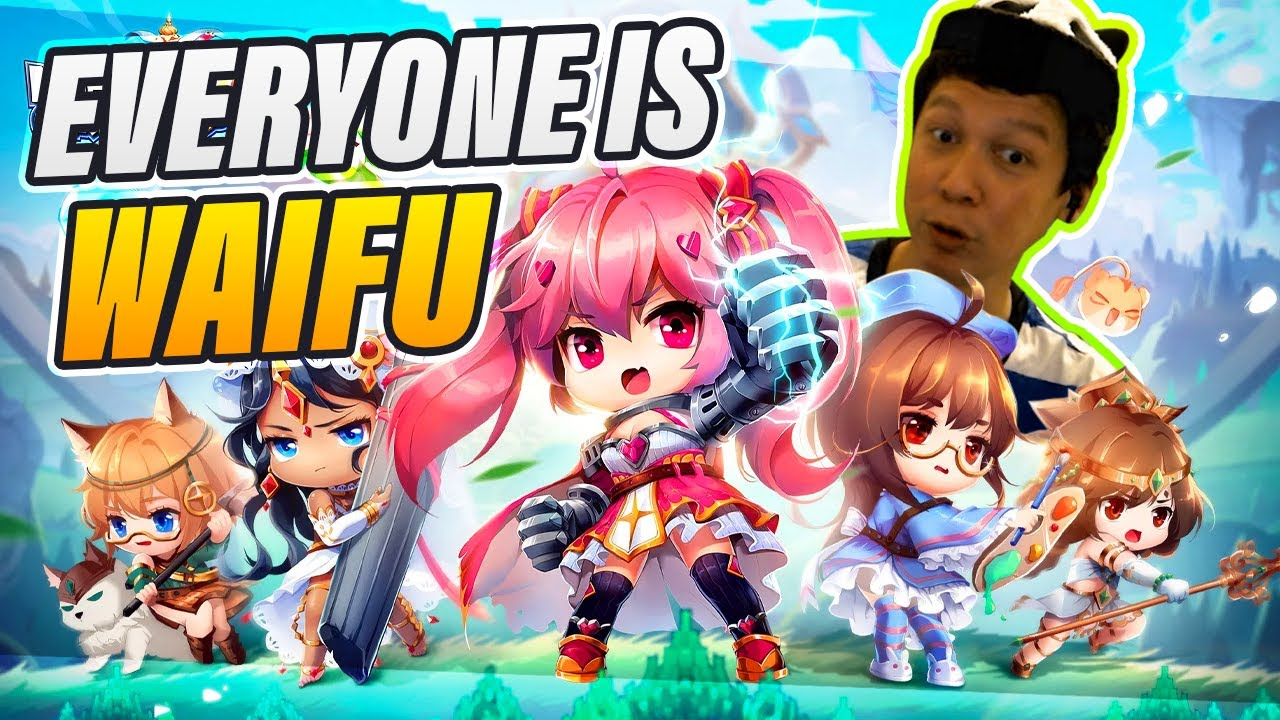 YDCB - FAMOUS PEOPLE BUT IT'S ALL WAIFUS - MOEGIRL GO!