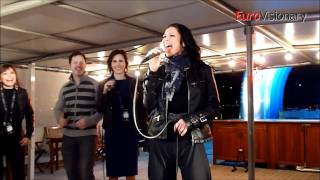 Magdalena Tul - Jestem - Eurovision 2011 - Poland - Live from Dutch party