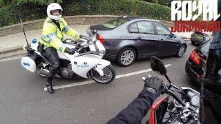 Police and the Husqvarna Nuda 900R