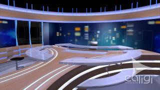 Plateau 20H TF1 2011 Modélisation 3D