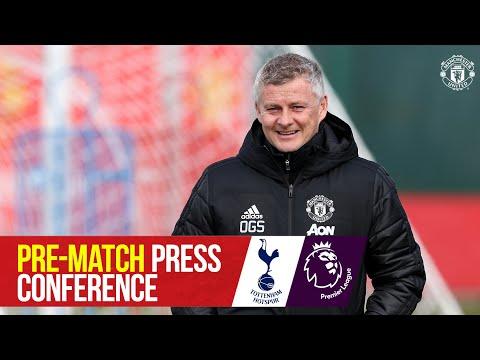 Manager's Press Conference   Tottenham Hotspur v Manchester United   Ole Gunnar Solskjaer