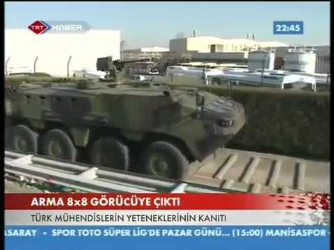 Türk Yapimi Askeri Araç Otokar ARMA 8X8 ► Made in Turkey !