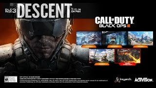 BLACK OPS 3 - DLC 3: DESCENT ALL MULTIPLAYER MAPS SHOWCASE TRAILER!