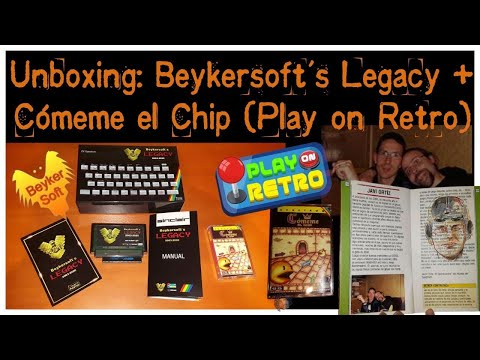 Unboxing Beykersoft's Legacy + Comeme el Chip (Play on Retro)