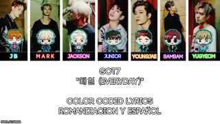 "GOT7 ""매일 (Everyday)"" [COLOR CODED] [ROM