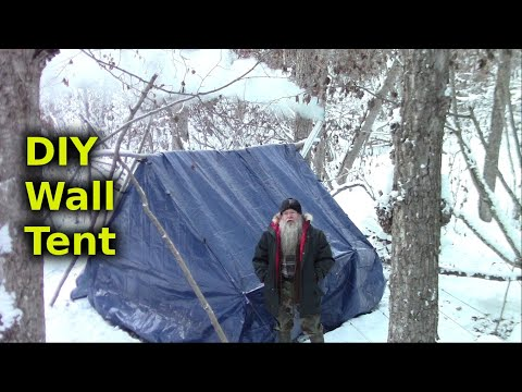 Make A Comfortable Inexpensive Semi Permanent Shelter - Part 2