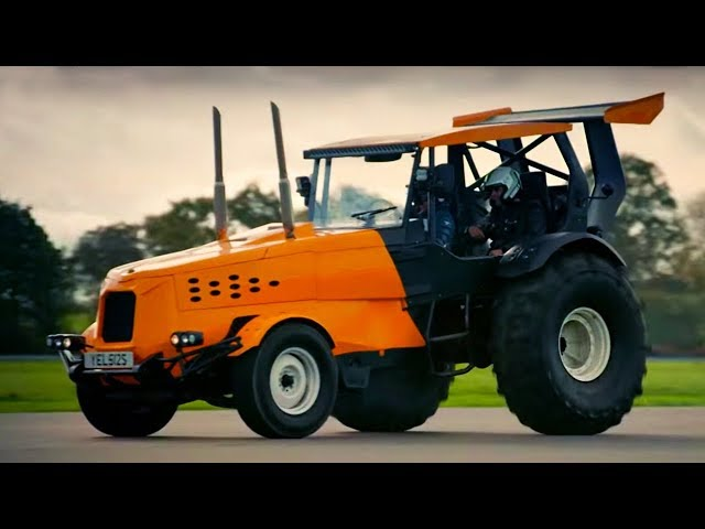 Building the world's fastest tractor