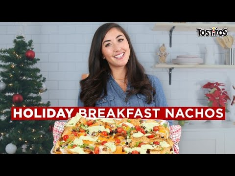 How To Make The Best Holiday Breakfast Nachos // Presented By Tostitos Canada