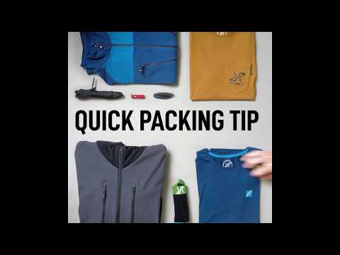 Packing Tip - Pack your backpack right!
