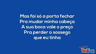Luan Santana - Eu, você, o mar e ela (Letra)