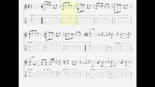 Gladiator - Now We Are Free (Guitar Tab)