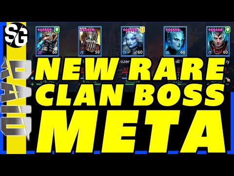 RAID SHADOW LEGENDS | RARE CLAN BOSS META! LETS TWO KEY NIGHTMARE CLAN BOSS.